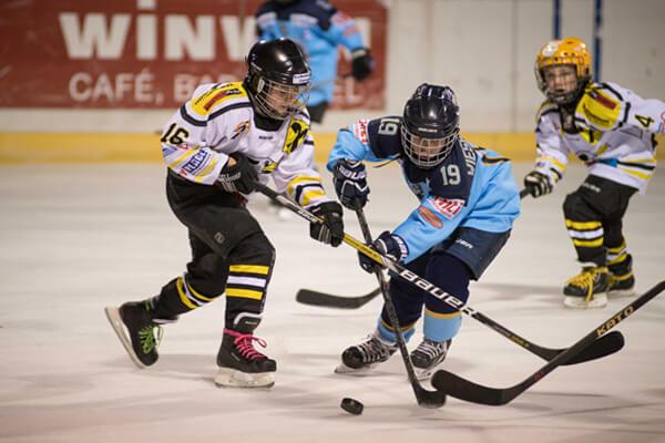 KEV Eislaufplatz Eröffnung Young Eagles U12